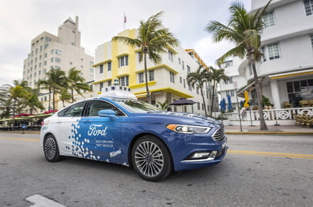 Ford determined to launch self-driving car service 'at scale' by 2021