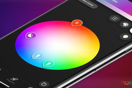 Philips Hue smart home lighting app boosts features, simplifies customization