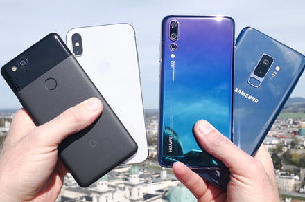 The big one: Huawei P20 Pro vs. Samsung Galaxy S9 Plus vs. Google Pixel 2 vs
