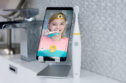 The Brush Monster makes an augmented reality game out of oral hygiene