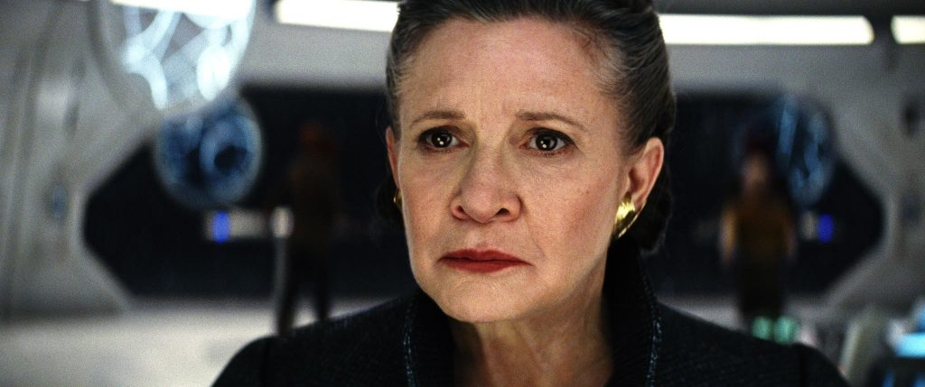 The Physics of Leia Using the Force